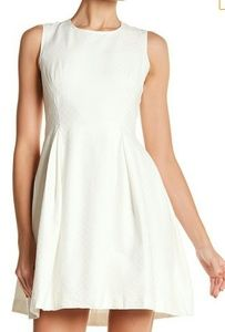 Max Studio sleeveless white ivory dress. New